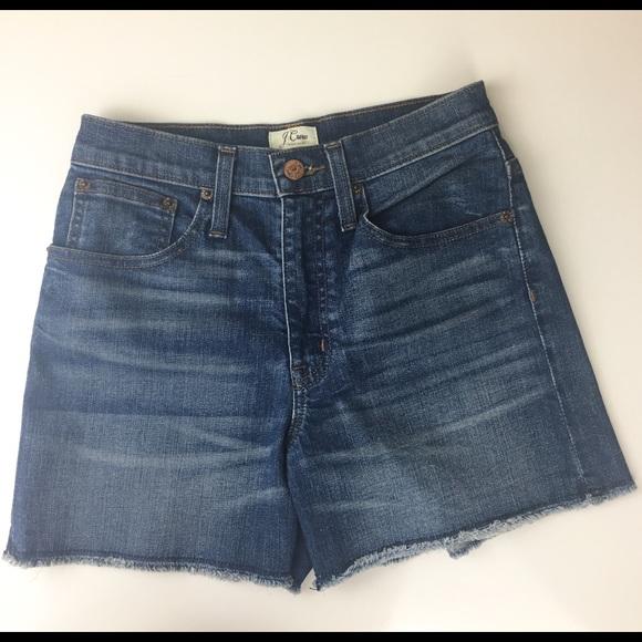 J. Crew Pants - J. Crew Denim Short Shorts